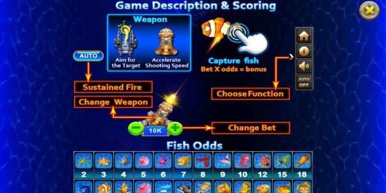 เกมยิงปลา Fish hunter 2 super ex เล่นเกมยิงปลาออนไลน์