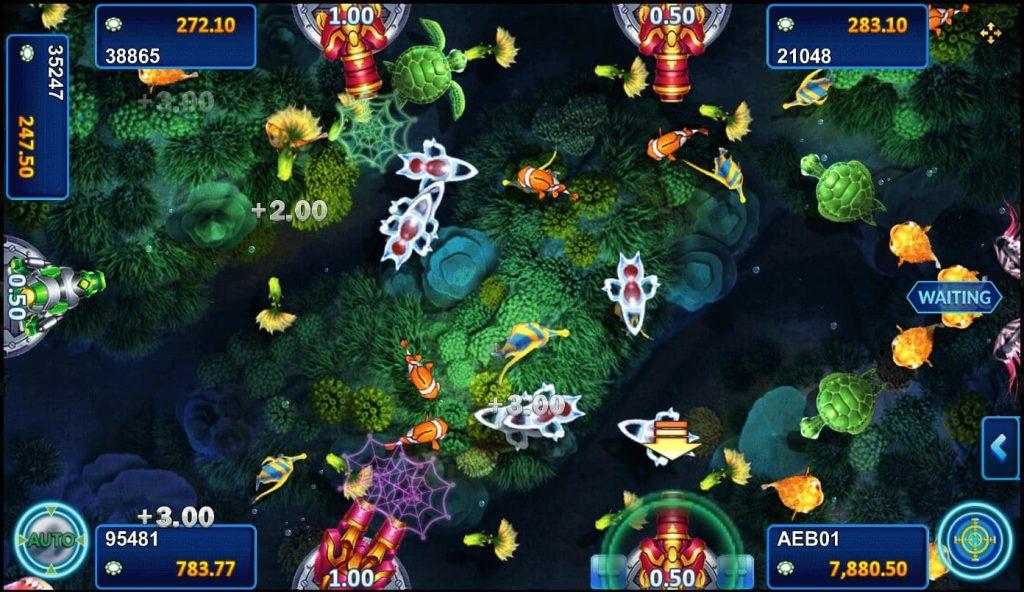 เกมยิงปลา Happy fish5 การเล่นเกมยิงปลา