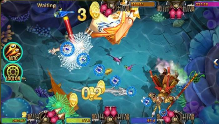 เกมยิงปลา Fish hunter da sheng nao hai เล่นเกมออนไลน์