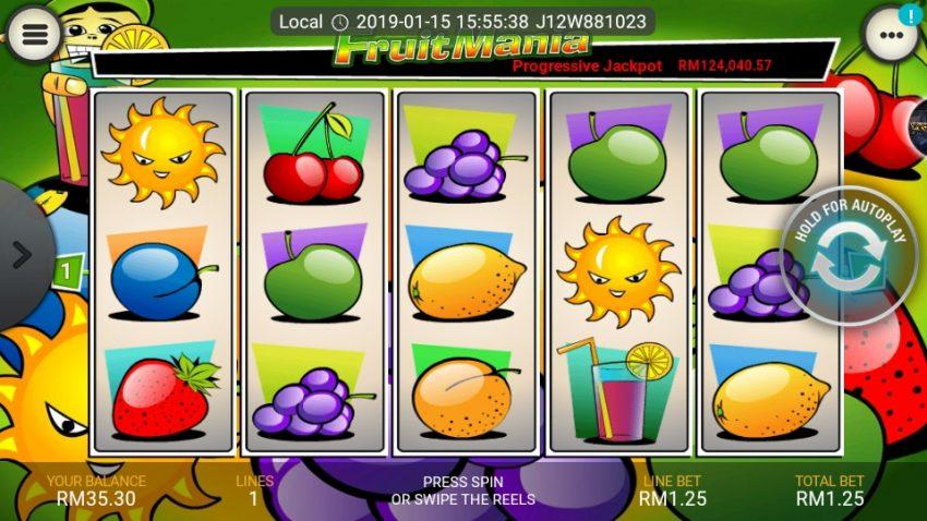 เกมเก็บผลไม้